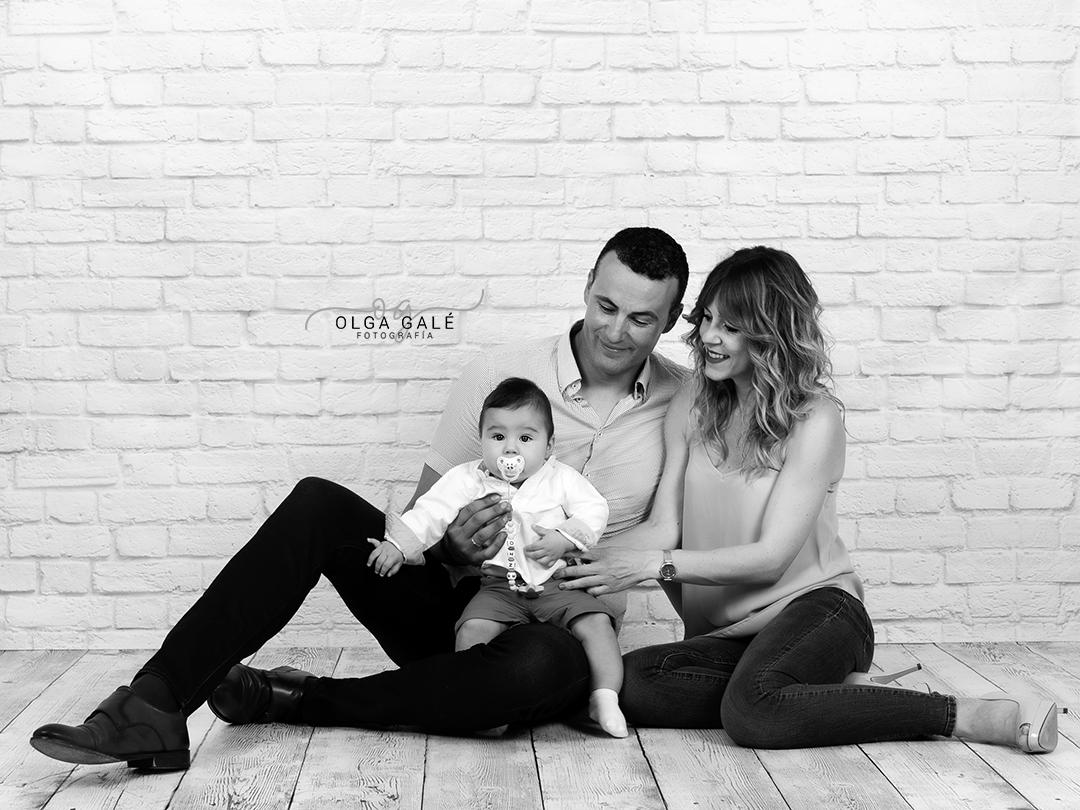 Sesión fotografica en familia