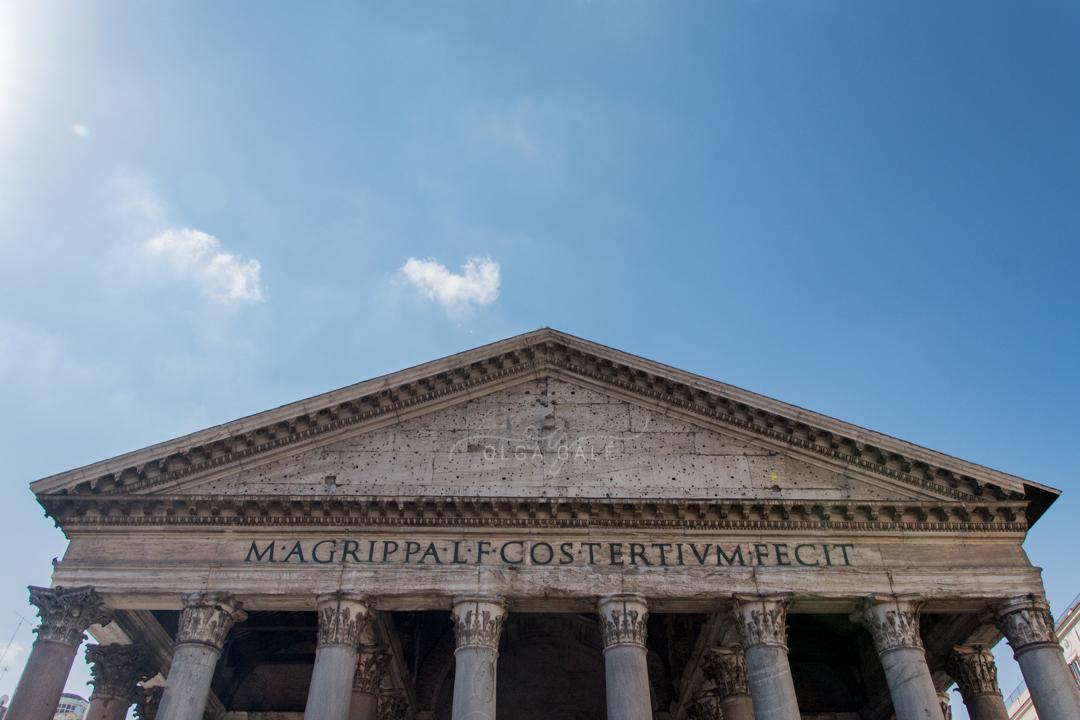 El pantheon Roma