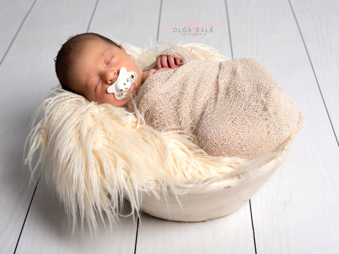 Fotografía recién nacido en Alagón